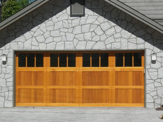 Wood Garage Doors Installation