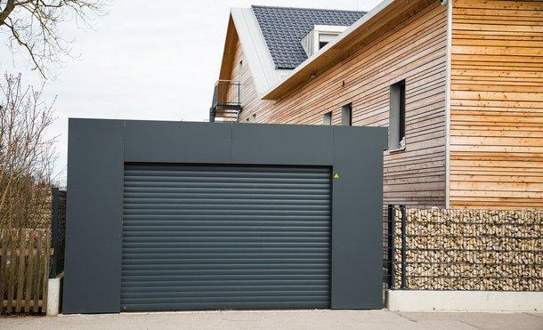Rollup garage door in calgary